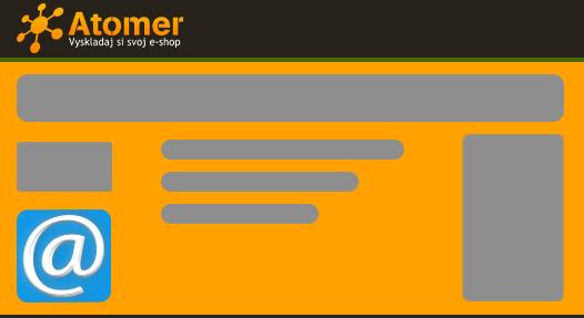 Zobrazenie bannera s mailto v Atomeri