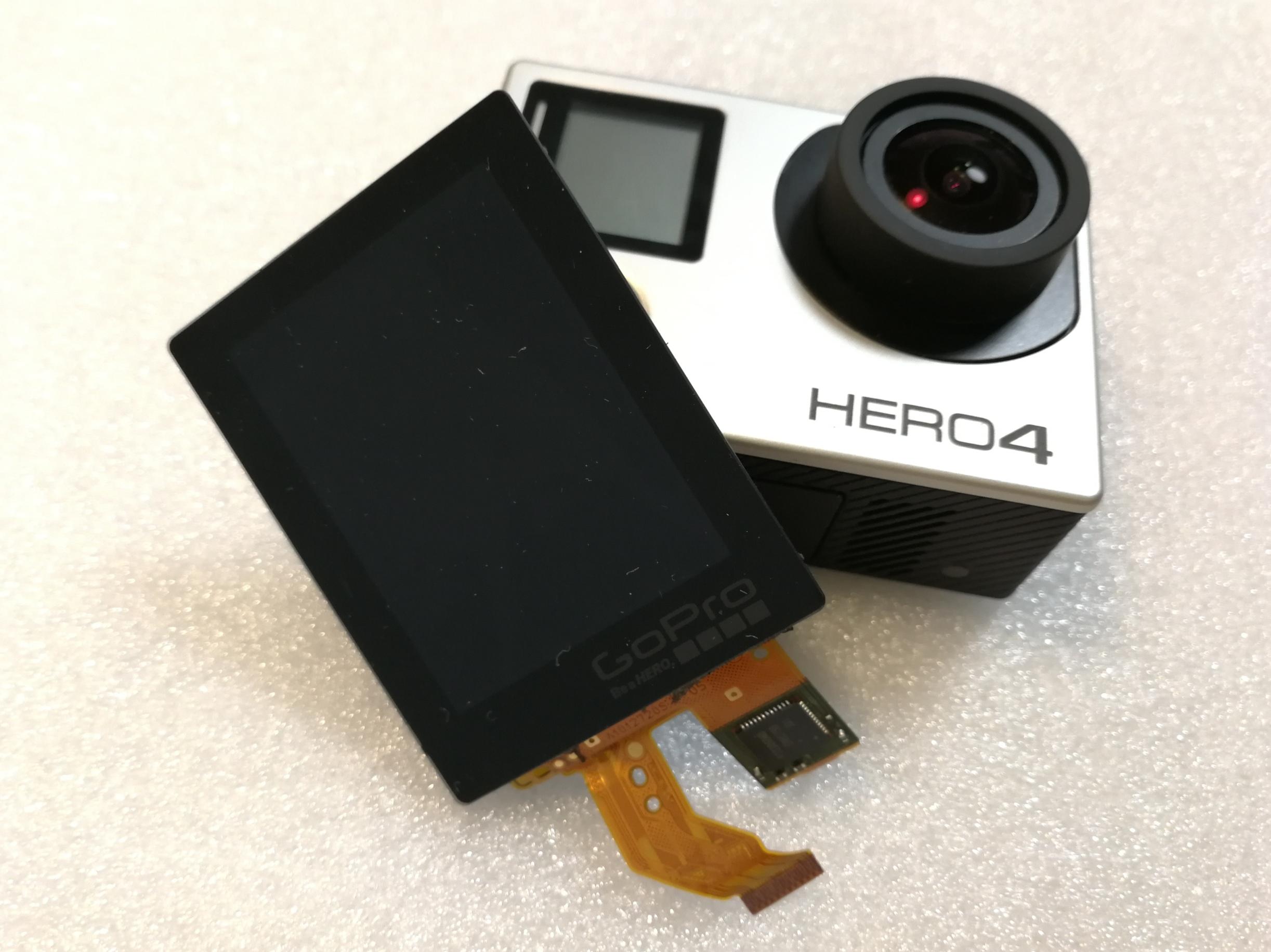 Hero4 GoPro vymena displeje