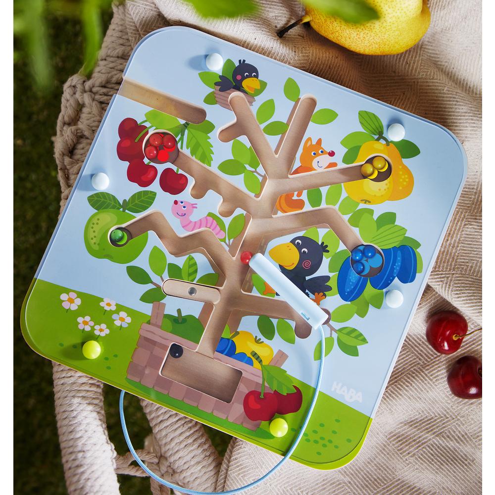 Magnetická hra pre deti od 2 rokov - Ovocný sad
