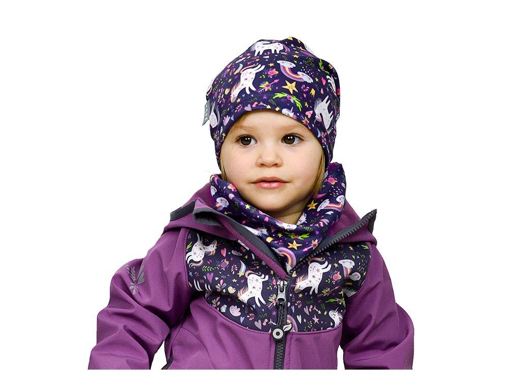 Detská jarná čiapka UNUO