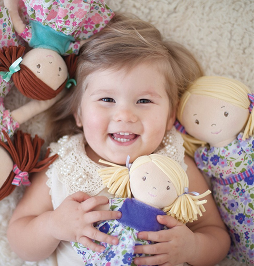 Látková bábika Bonikka pre najmenších