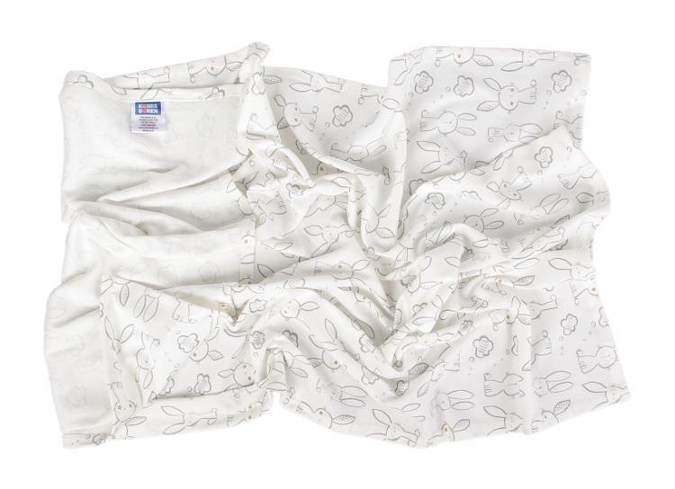 Letná detská deka z bavlny