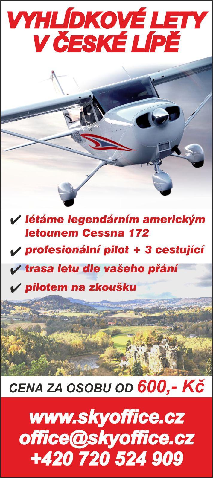 vyhlídkové lety