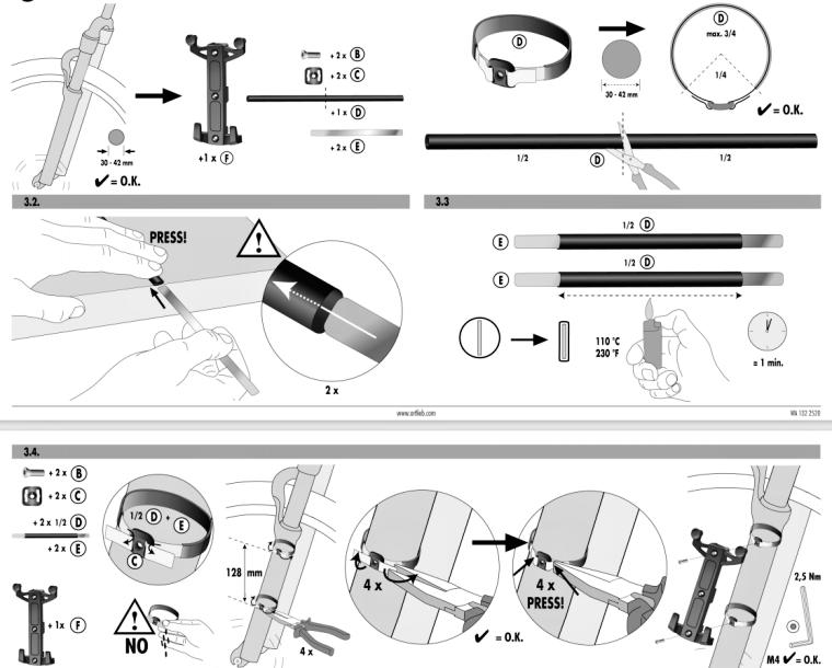 Ortlieb Fork-Pack montáž