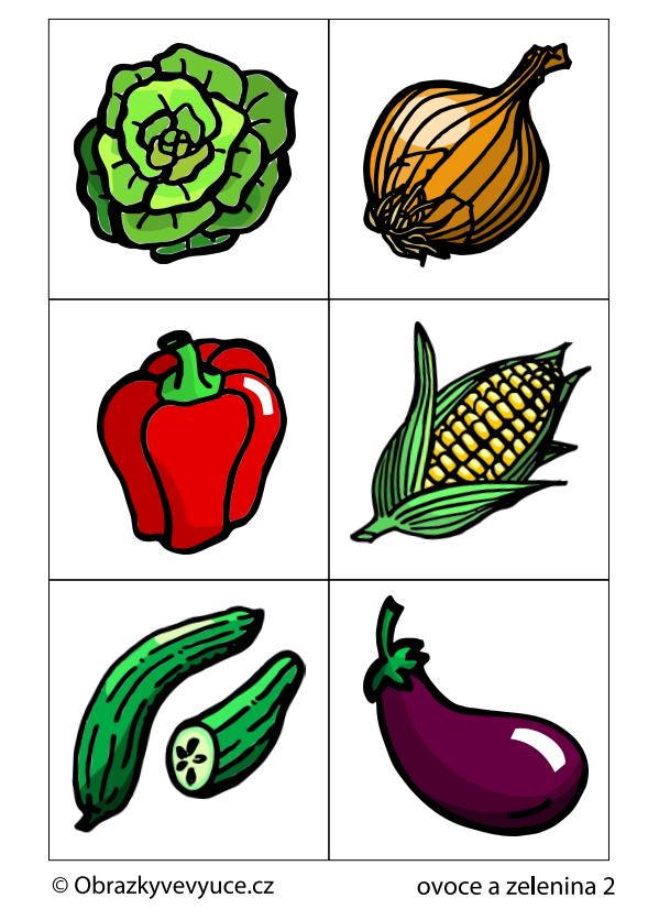 Ovoce a zelenina 2