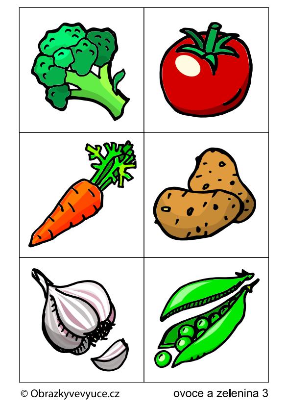 Ovoce a zelenina 3
