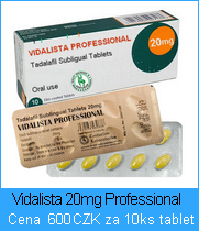 Vidalista Sublingválne tablety 100mg