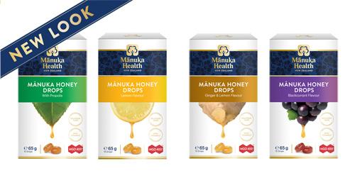 Nové balenia Manuka Health cukríkov
