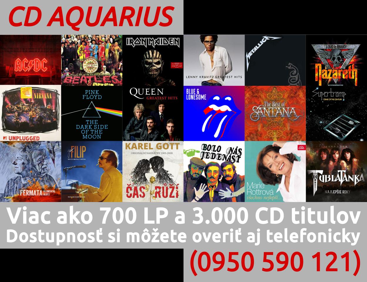 700 LP a 3000 CD titulov