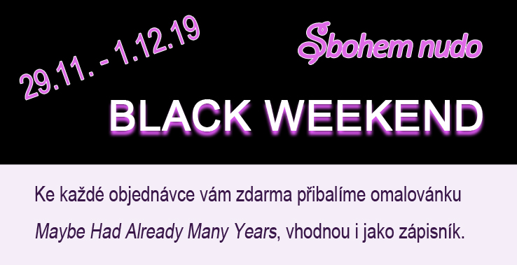 Black Weekend na Sbohemnudo.cz
