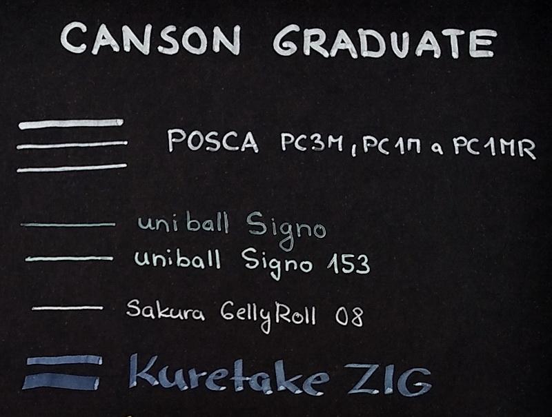 Canson Graduate Black