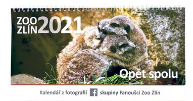 Kalendář 2021 Zoo Zlín