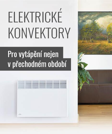 Elektrické konvektory - Pro vytápění nejen v přechodném bdobí