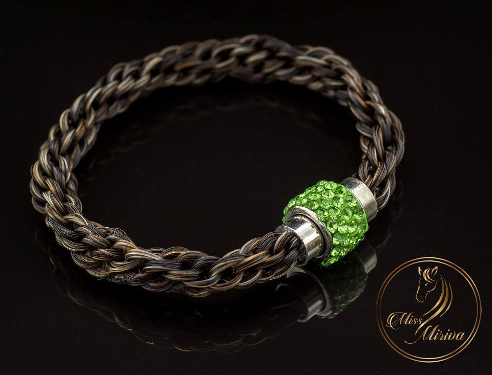 Náramek Chain z koňských žíní Miss Miriva