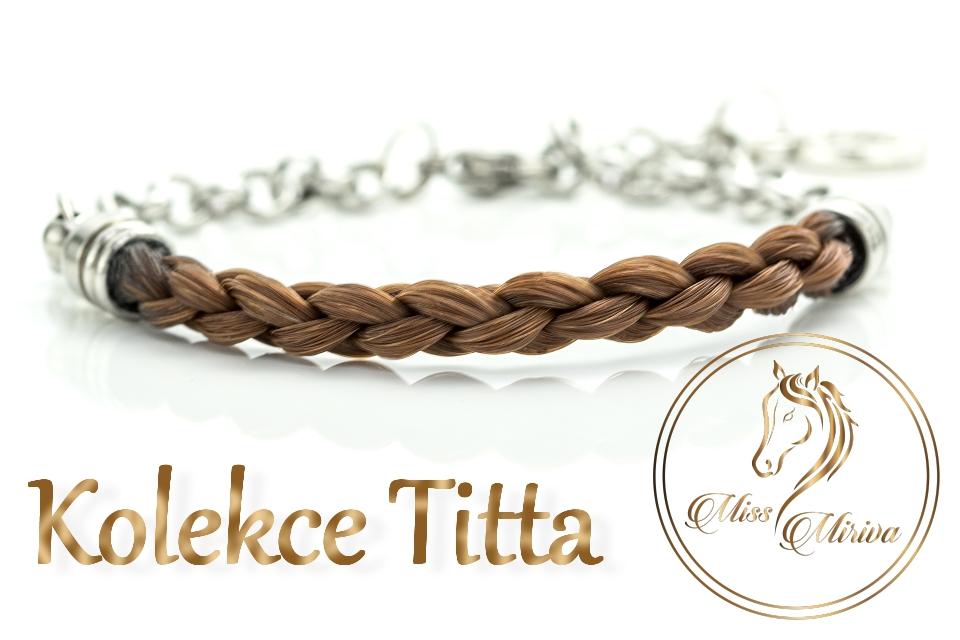Náramek Titta z koňských žíní Miss Miriva