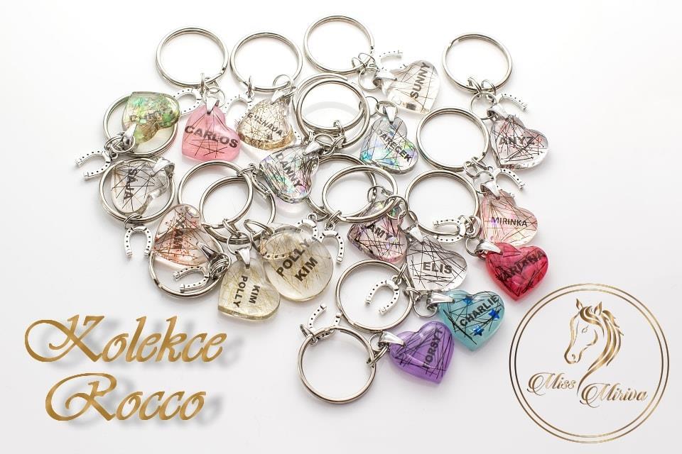 Přívěsky na klíče z kolekce Rocco Miss Miriva