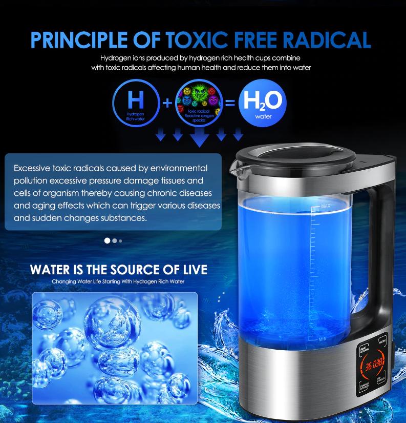 generator vodikovej vody