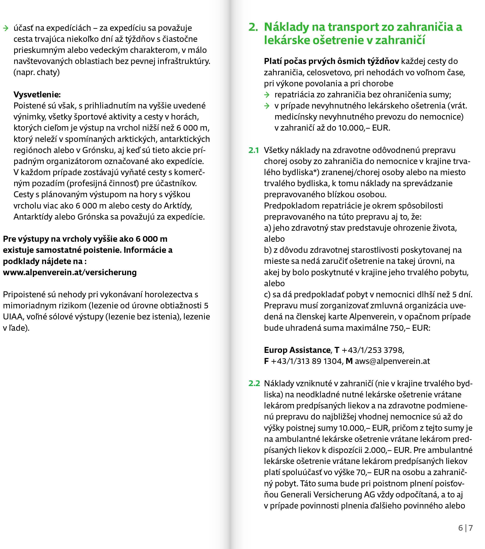 Poistné podmienky 2021 str.4