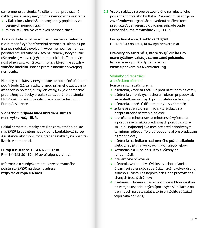 Poistné podmienky 2021 str.5