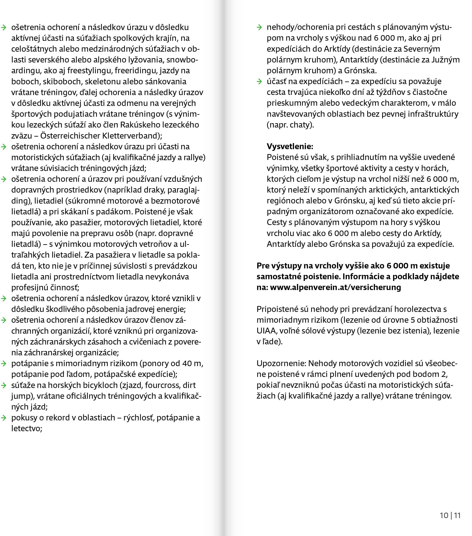Poistné podmienky 2021 str.6