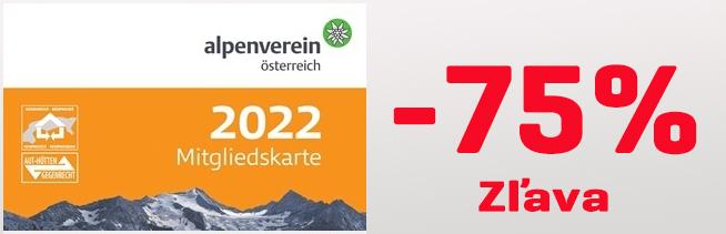 Alpenverein akcia-75%