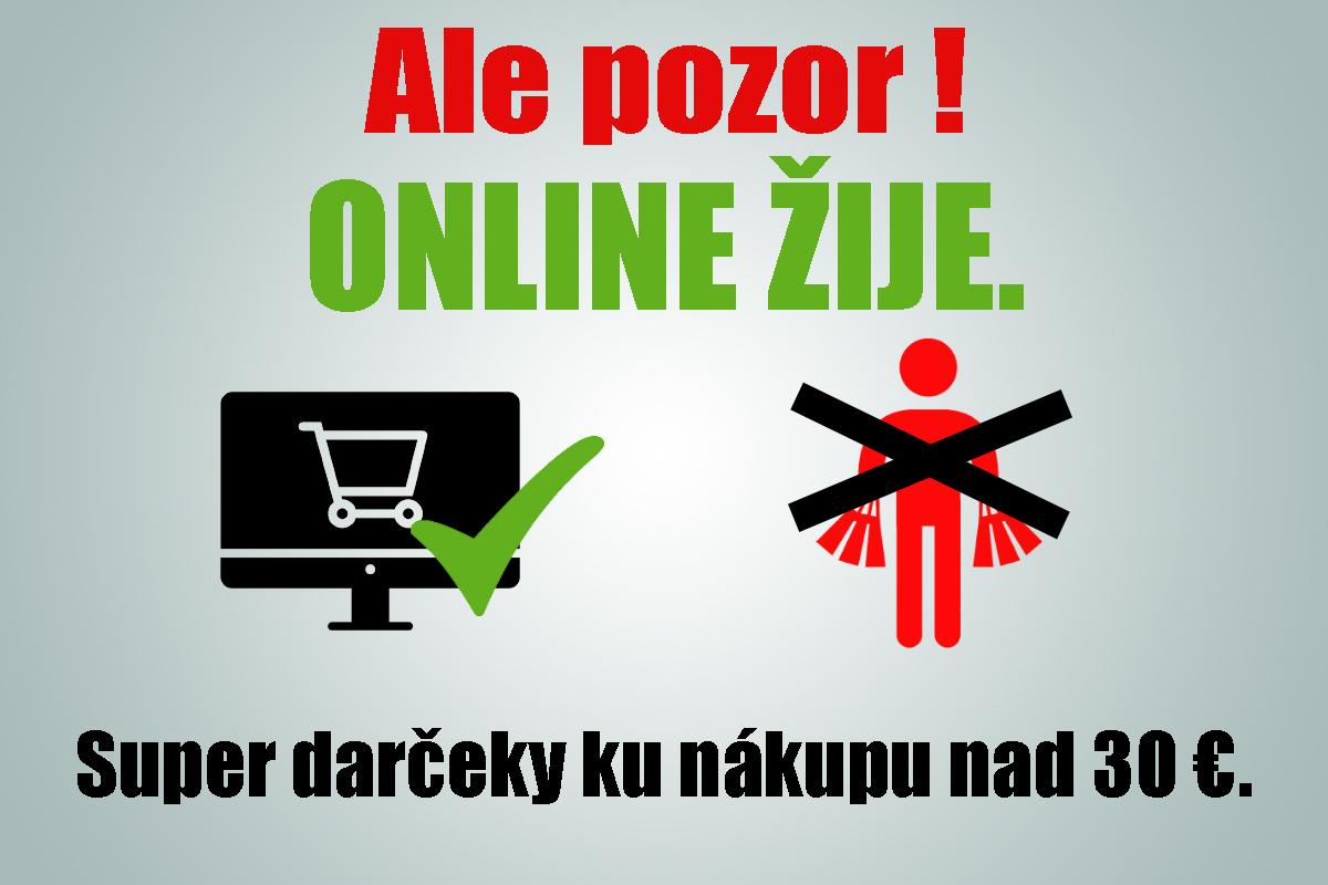 Online žije