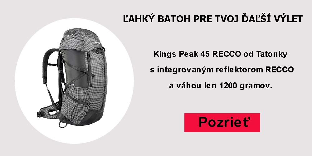 Batoh Kings Peak 45 RECCO
