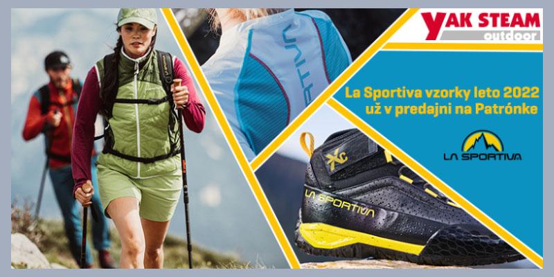 Vzorky La Sportiva jar/leto 2022