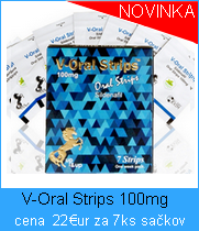 V-Oral strip 100mg