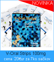 V-Oral Strips 100mg