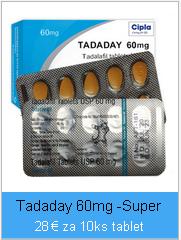 Tadaday 60mg Tadalafil