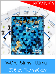 V-Oral strip 100mg