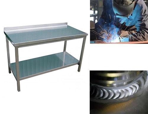 Zvarané pracovné stoly