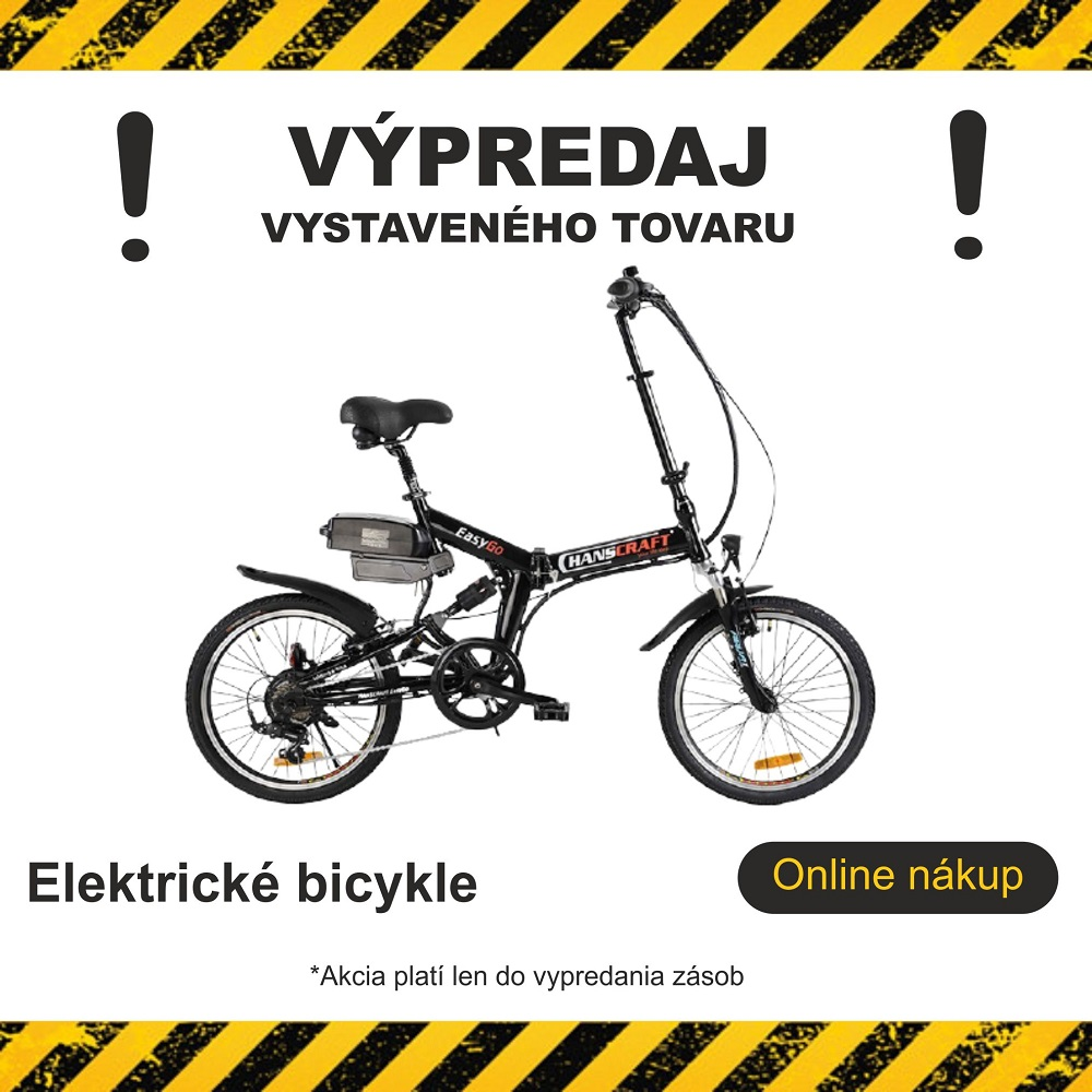 Výpredaj bicykle