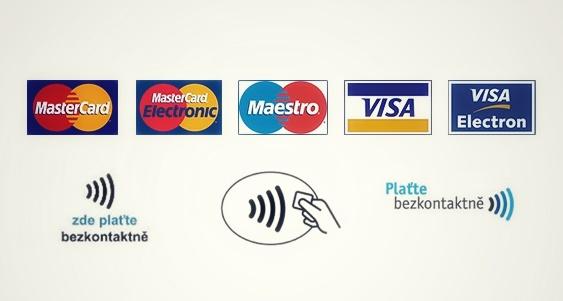 Prijímame už aj platobné karty!