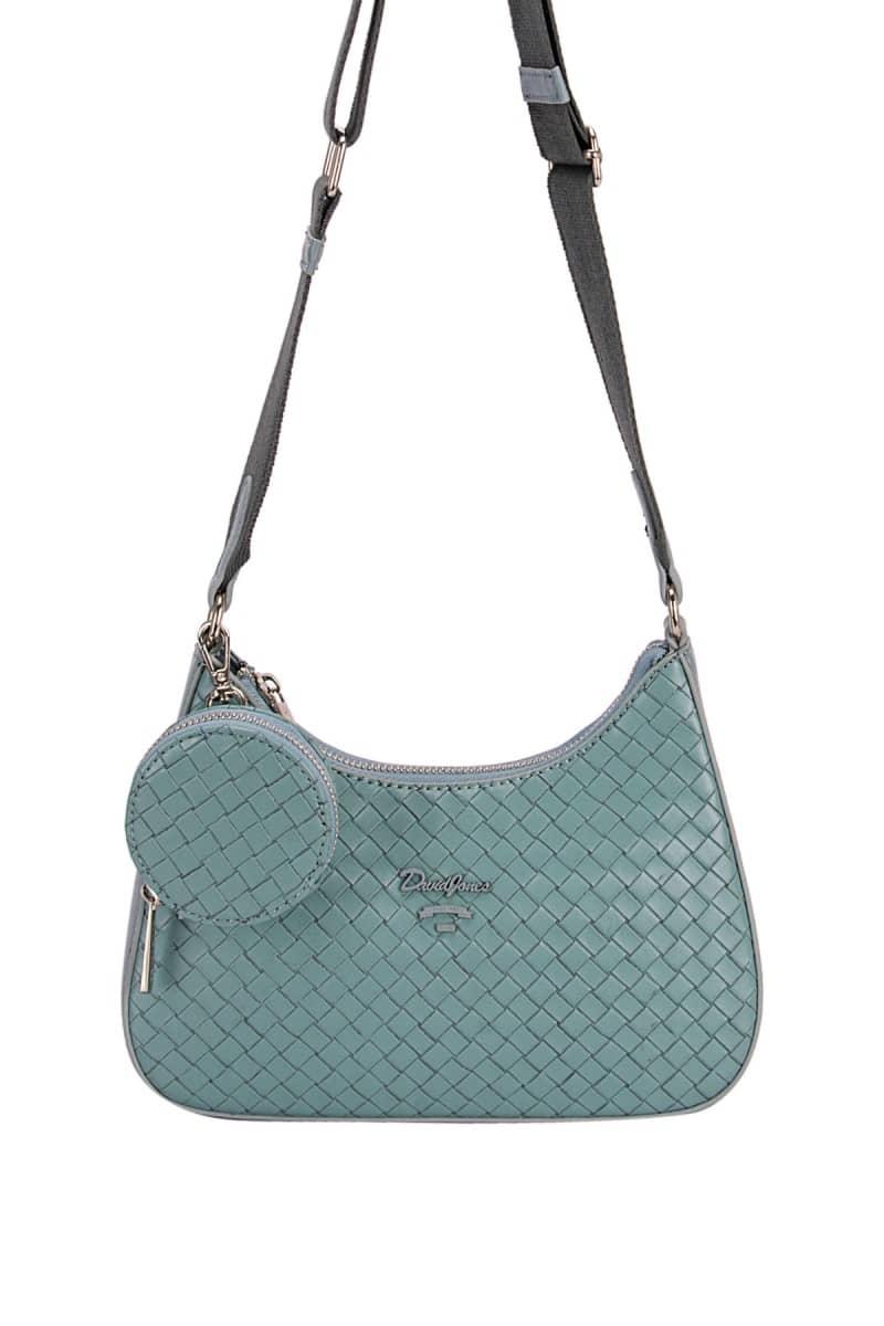 Príklad prešívanej kabelky