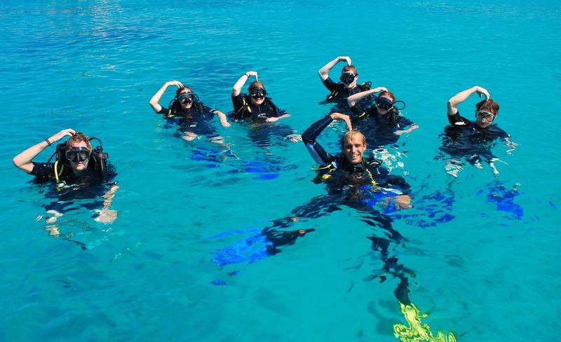 Kurzy potápana a zábava vo vode
