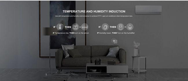 Broadlink HTS2 Snímač teploty a vlhkosti cez USB