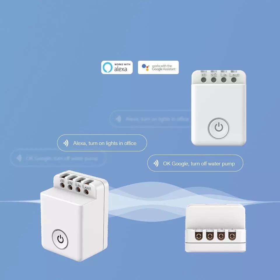 BROADLINK MCB1 (4PACK)  Wifi SPÍNAČ s ovládacím tlačidlom