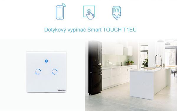 Dotykový vypínač Smart TOUCH T1EU2C