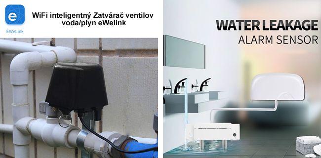 WiFi 433MHz inteligentný Zaplavový detektor úniku vody