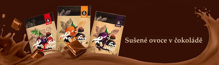 Sušené ovoce v čokoládě