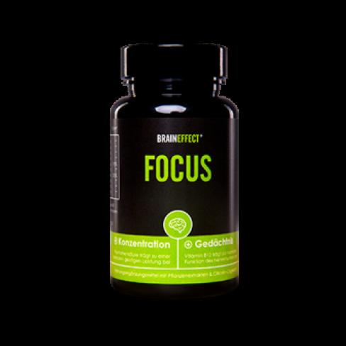Prípravok Focus na zlepšenie myslenia