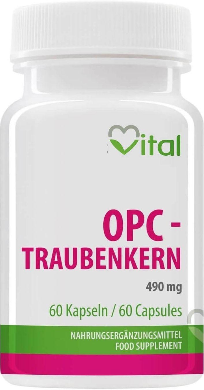 Schudnite efektívne s tabletkami OPC Traubenkern