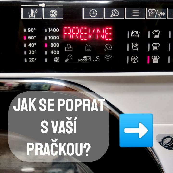 Jak se poprat s vaší pračkou?