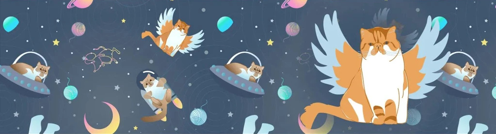 ALL GOOD CATS GO TO SPACE