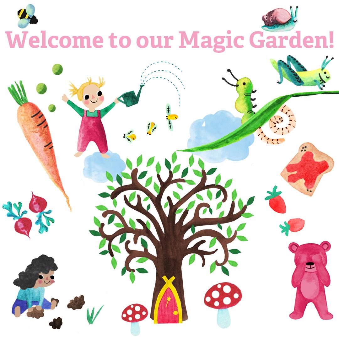 TotsBots Magic Garden