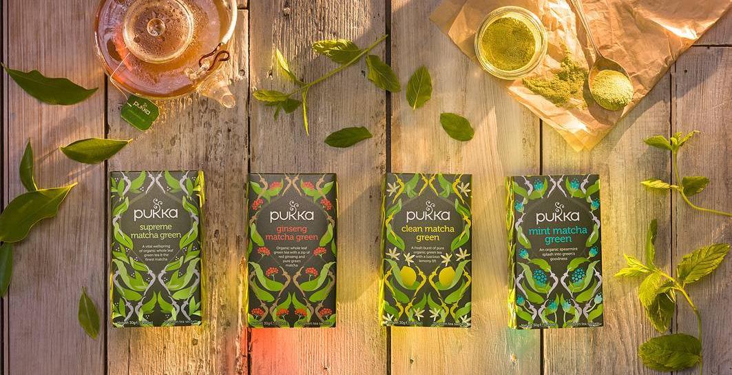 Pukka ajurvédské čaje