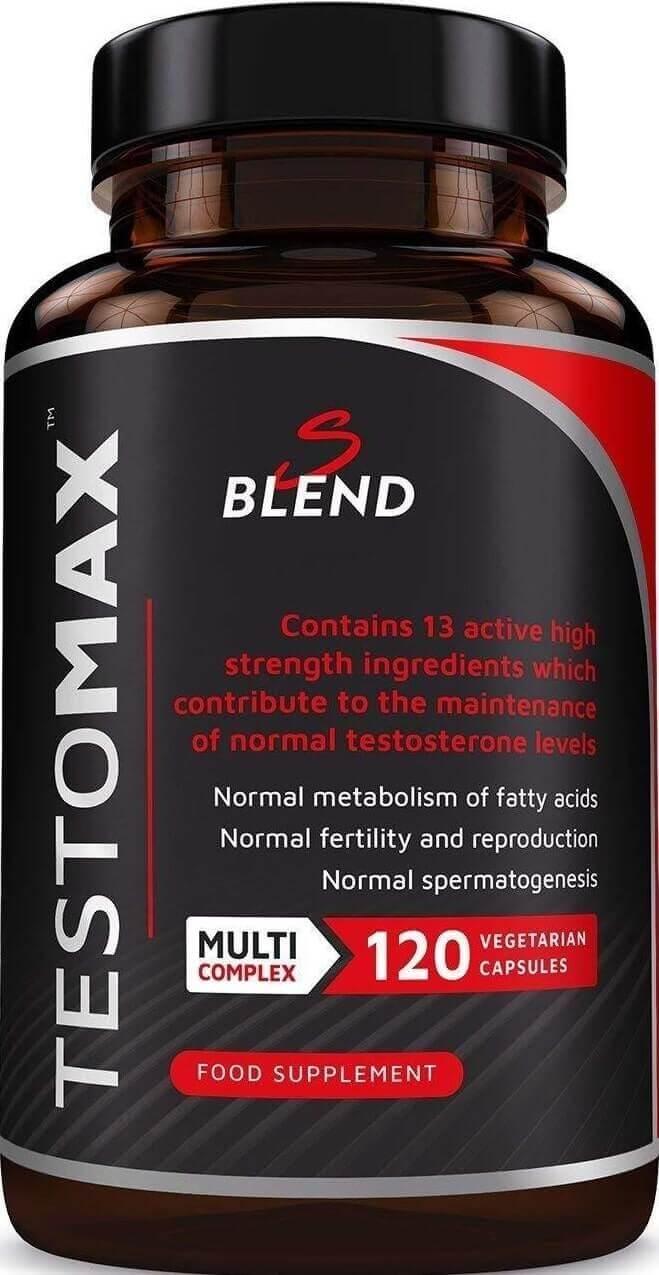 Zvýšení testosteronu s produktem Testomax