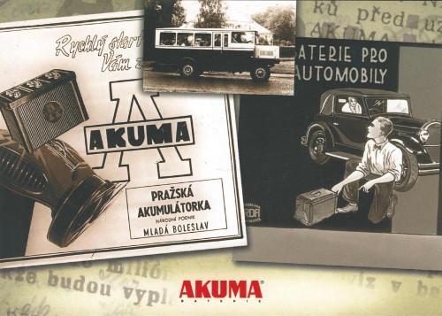 z historie značky AKUMA
